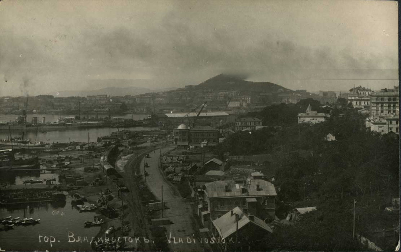 Владивосток, порт, лето 1919