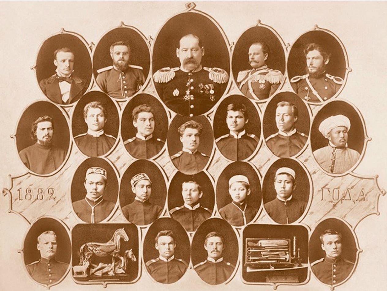 Ветеринарно- фельдшерские курсы. 1882