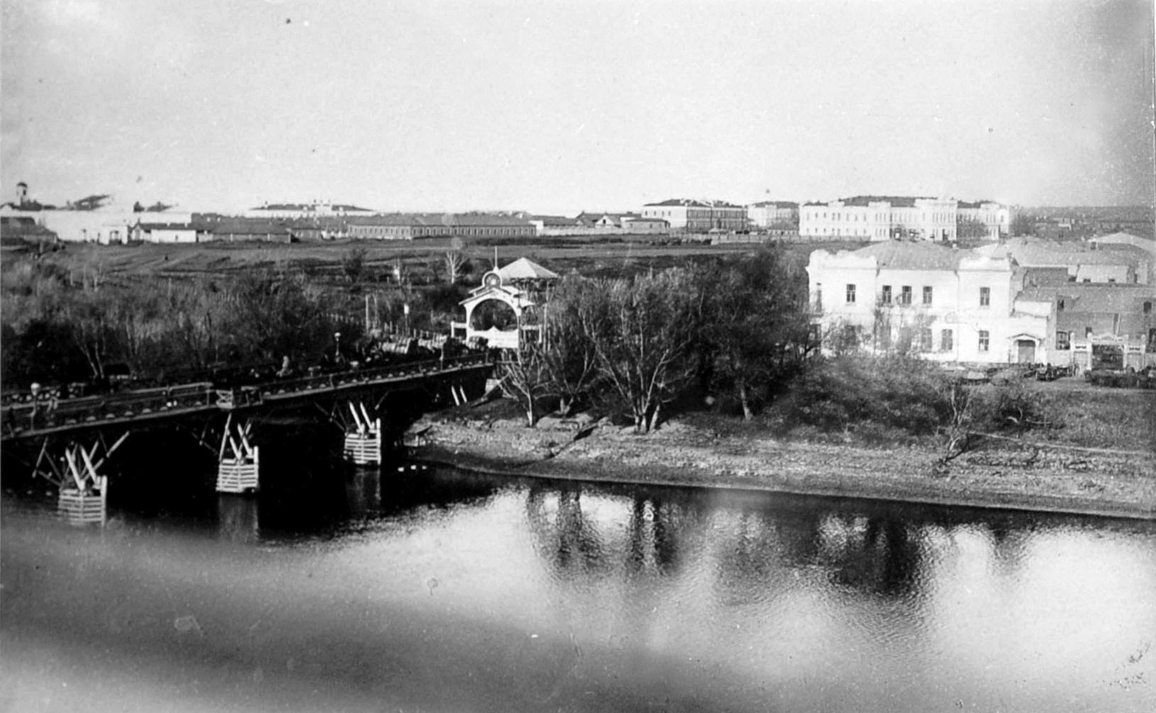 Вид на центральную часть Омска
