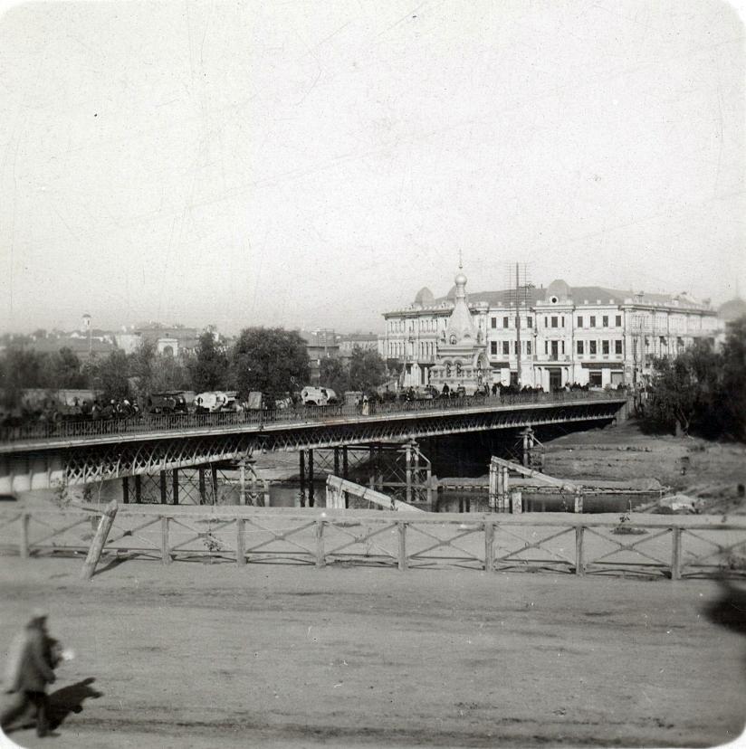 Железный мост через Омь