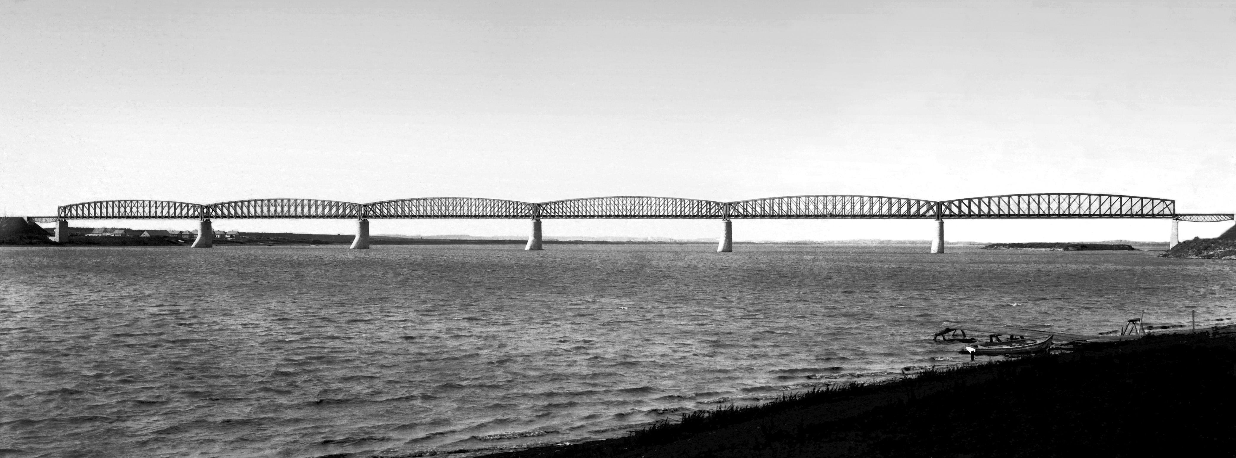 Мост через Иртыш, 1896