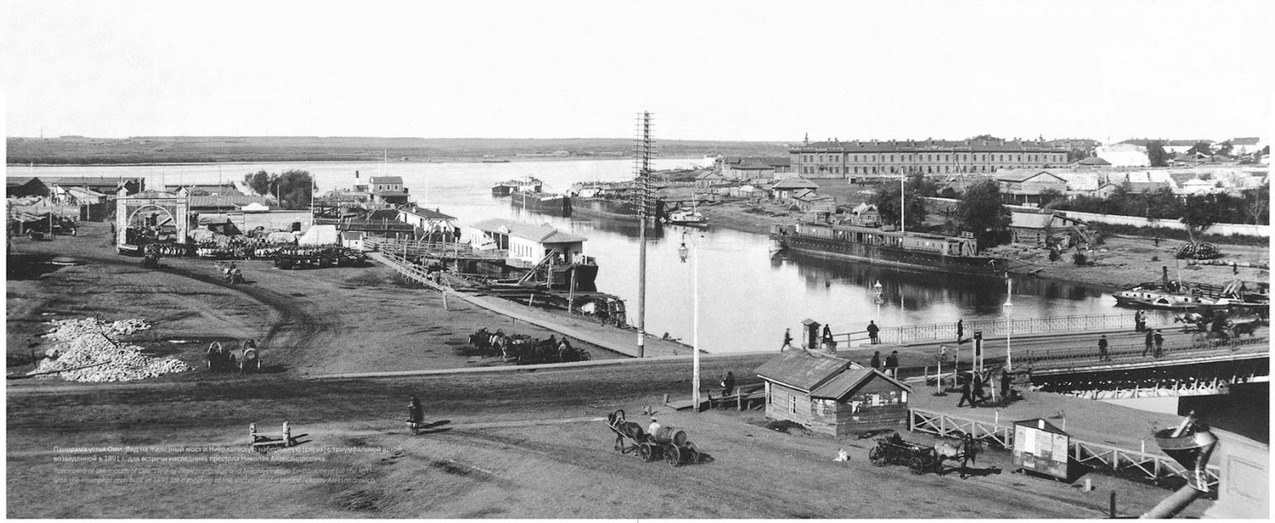Устье реки Оми