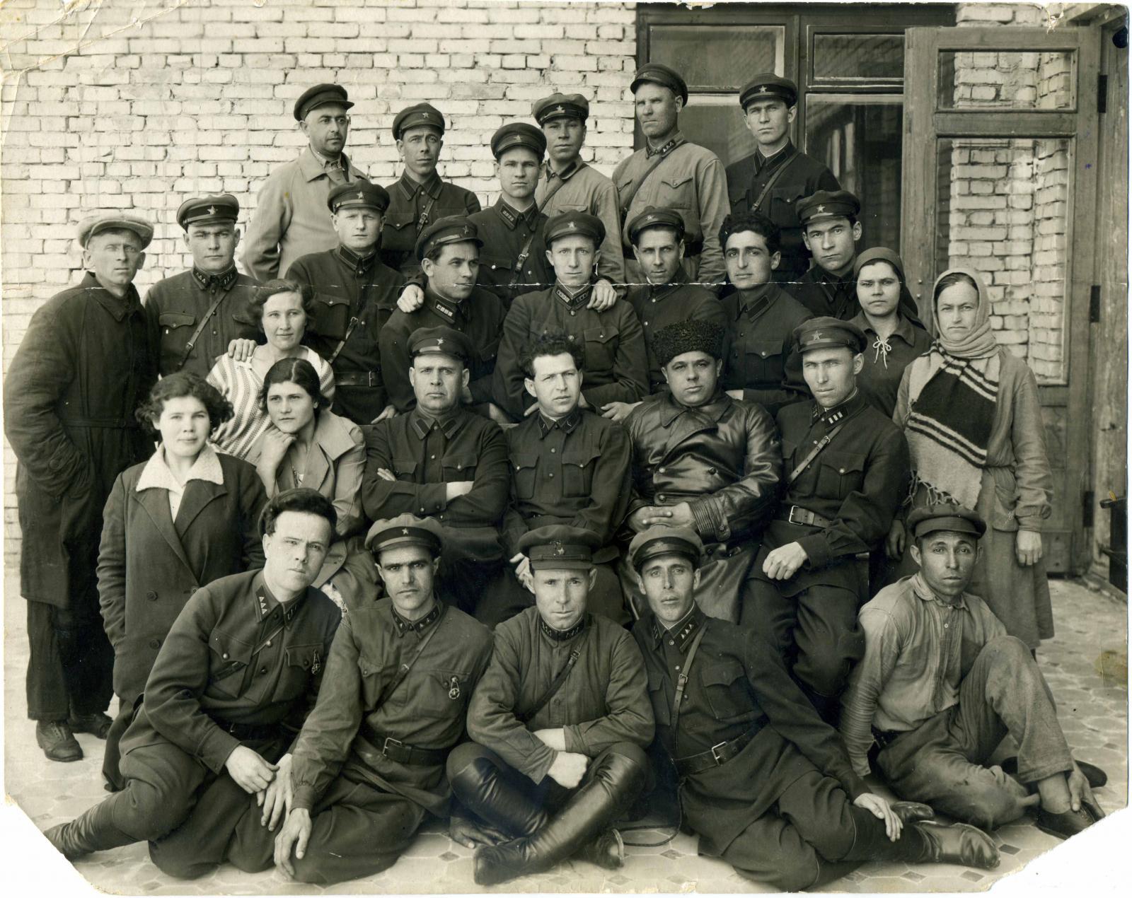 1934. Сотрудники ОГПУ,  Ирбит