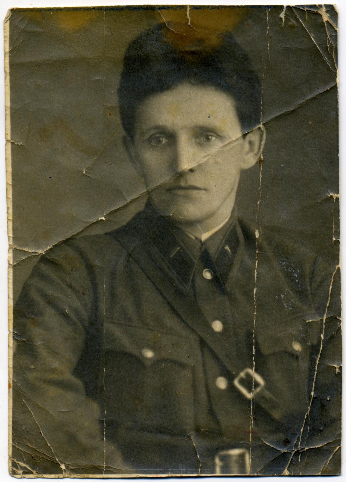 1940. Лейтенант государственной безопасности Пушкин Дмитрий Васильевич г. Свердловск