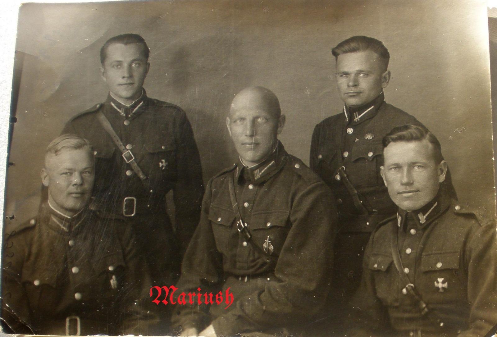1942. Латышские полицаи. 17 Июля. Днепропетровск