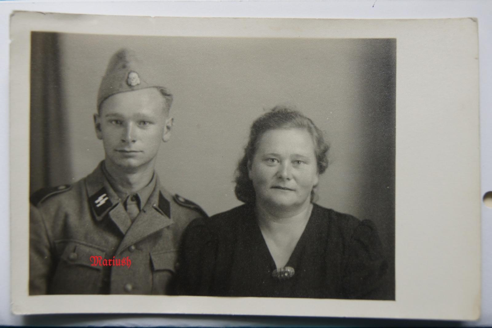 Солдат Зиемелис с матерью