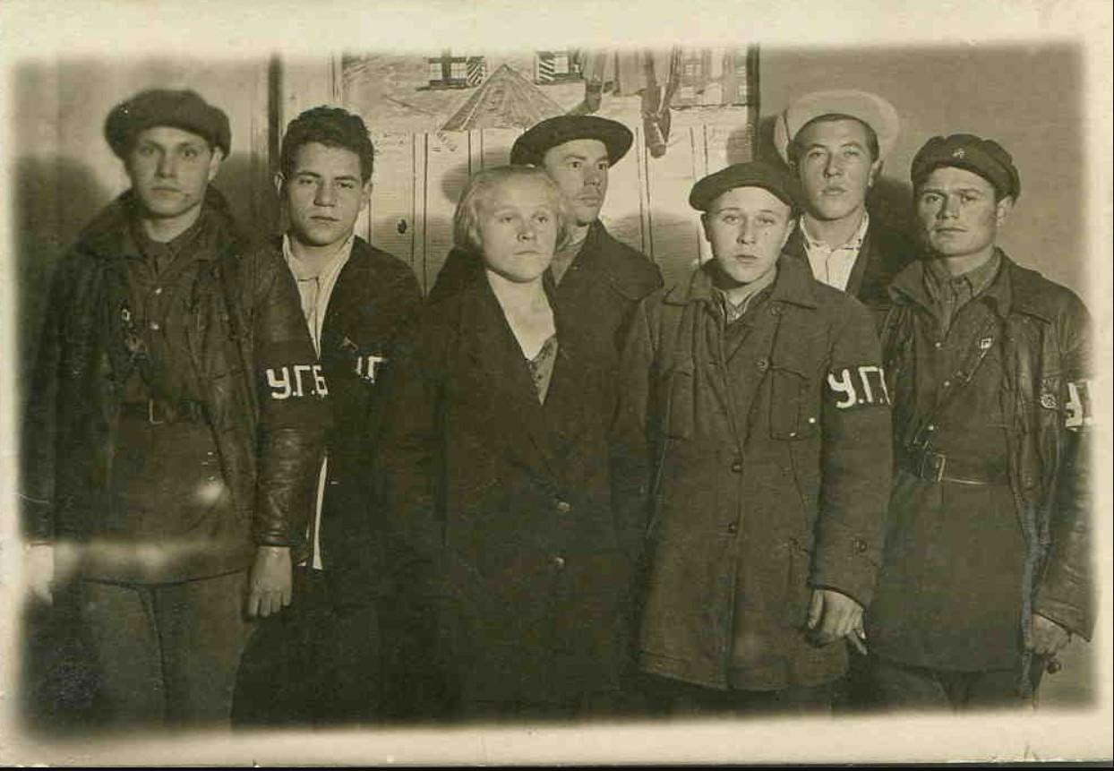 1929. Комсомольский отряд по борьбе с хулиганами в Домодедово