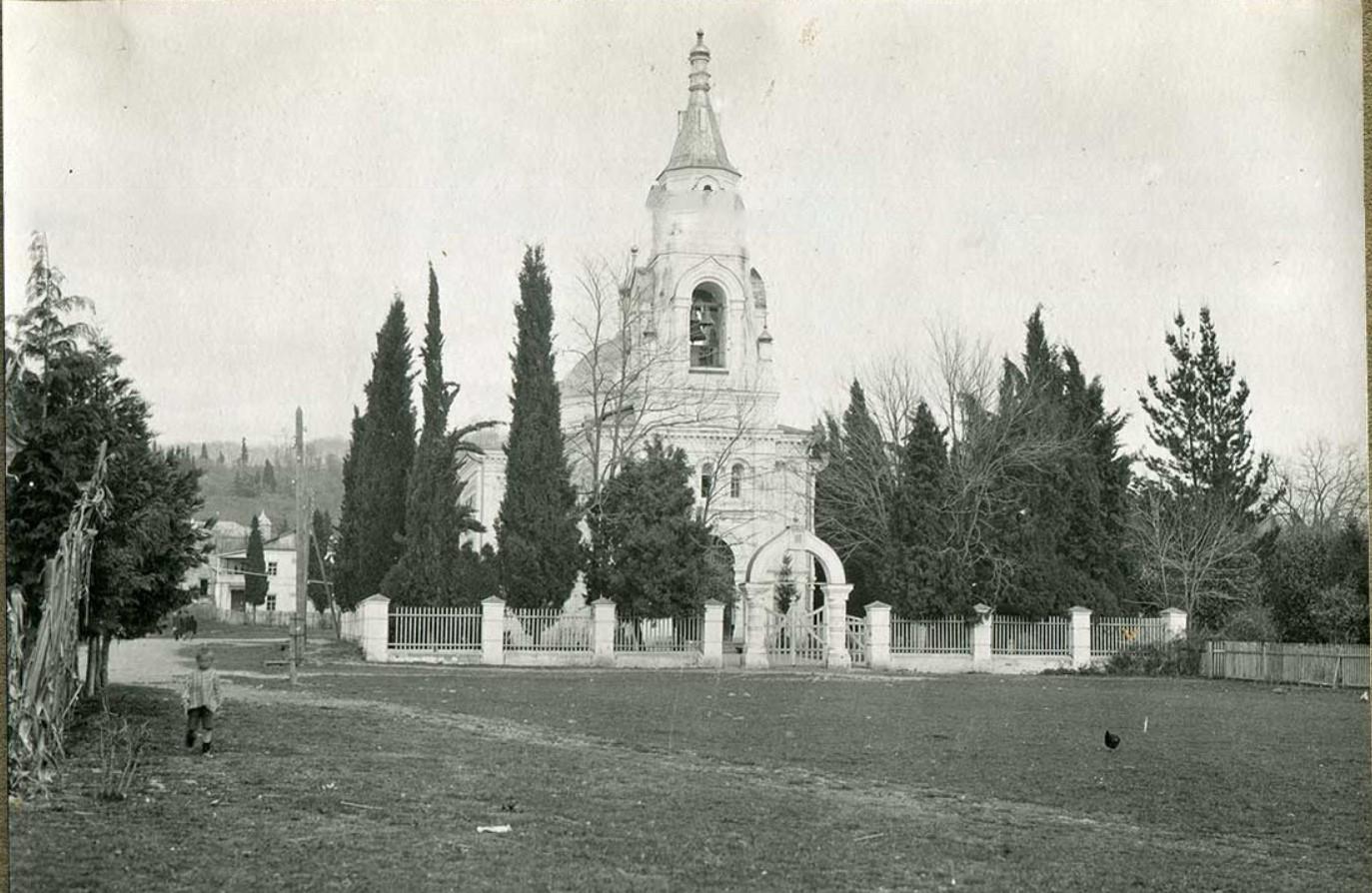 Сочи. Собор Святого Архистратига Архангела Михаила, сооруженный в память окончания Кавказской войны