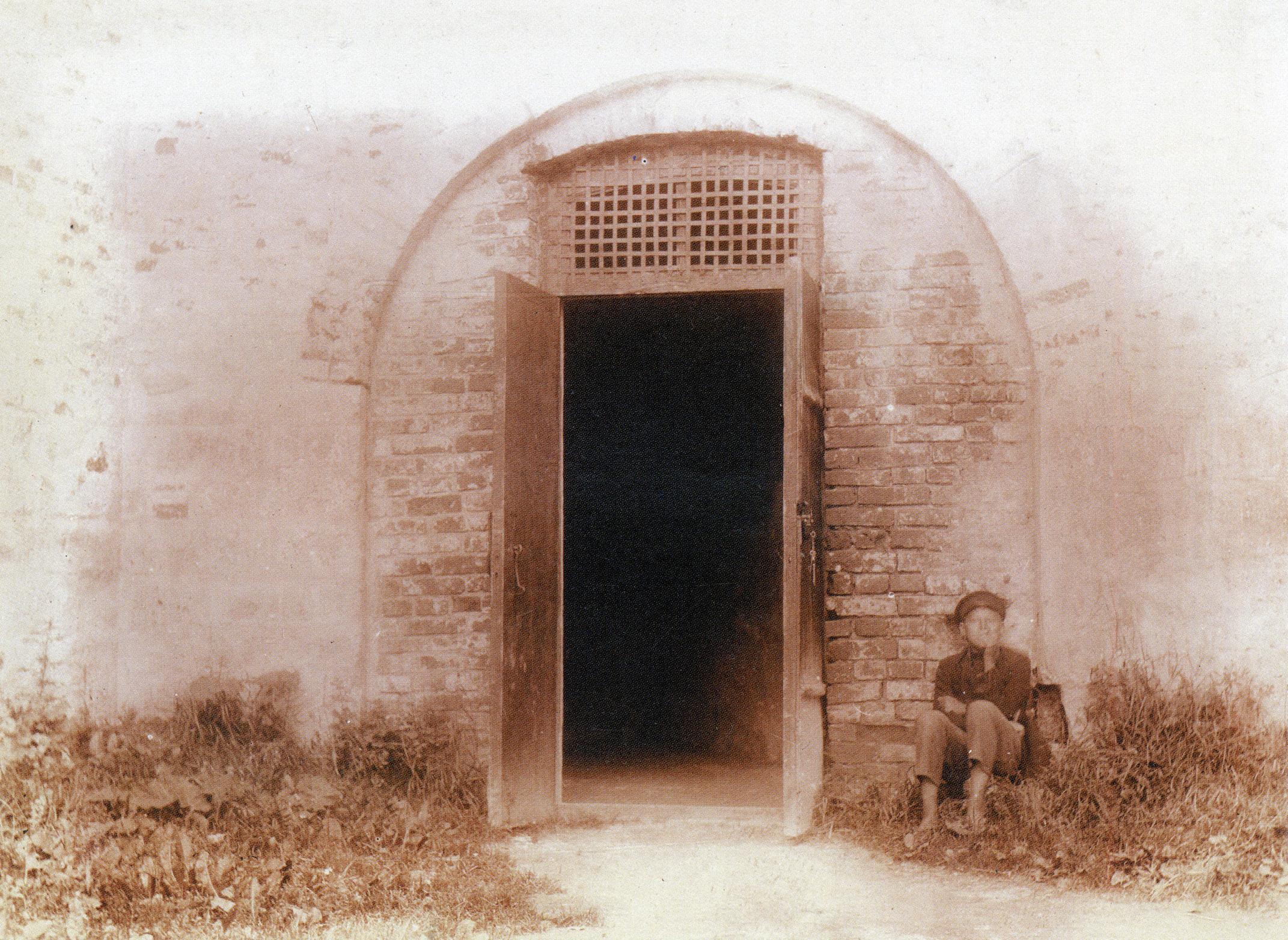 Вход в башню Веселуха. 1909