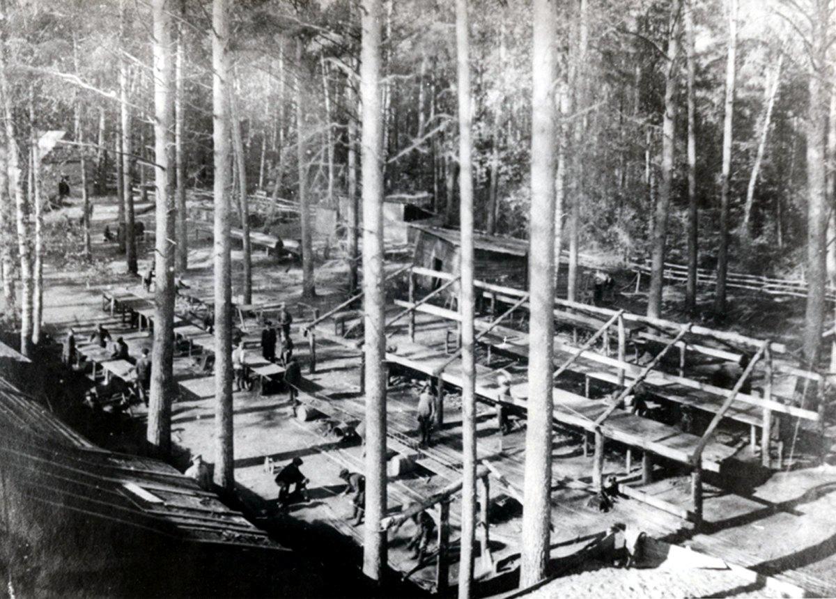 Начало строительства завода «Руссо-Балт». 1916