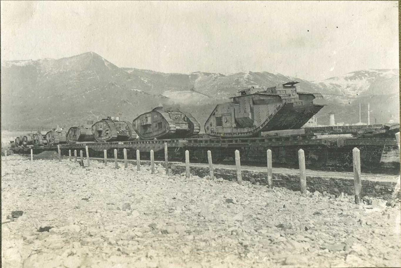 Танки деникинской армии