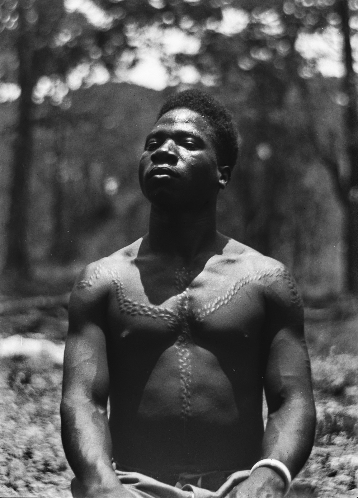 Касемпа. Мужчина народности каонда