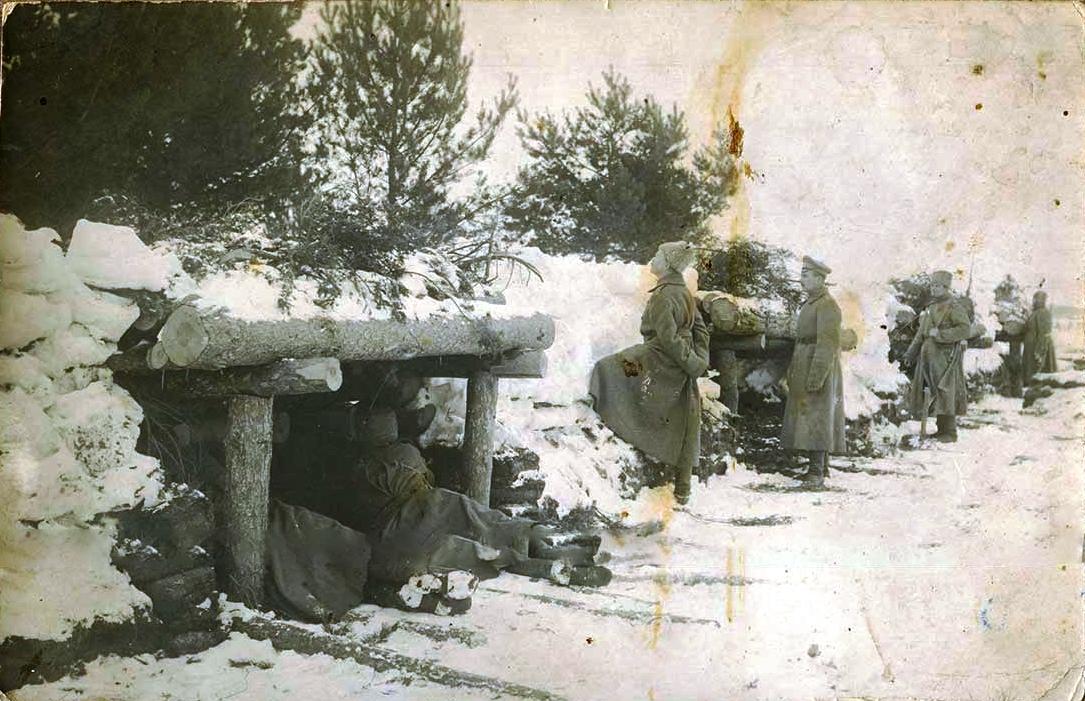 09. Окопы на позиции на озере Нарочь
