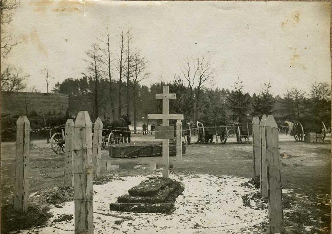 10. Братское кладбище в лесу