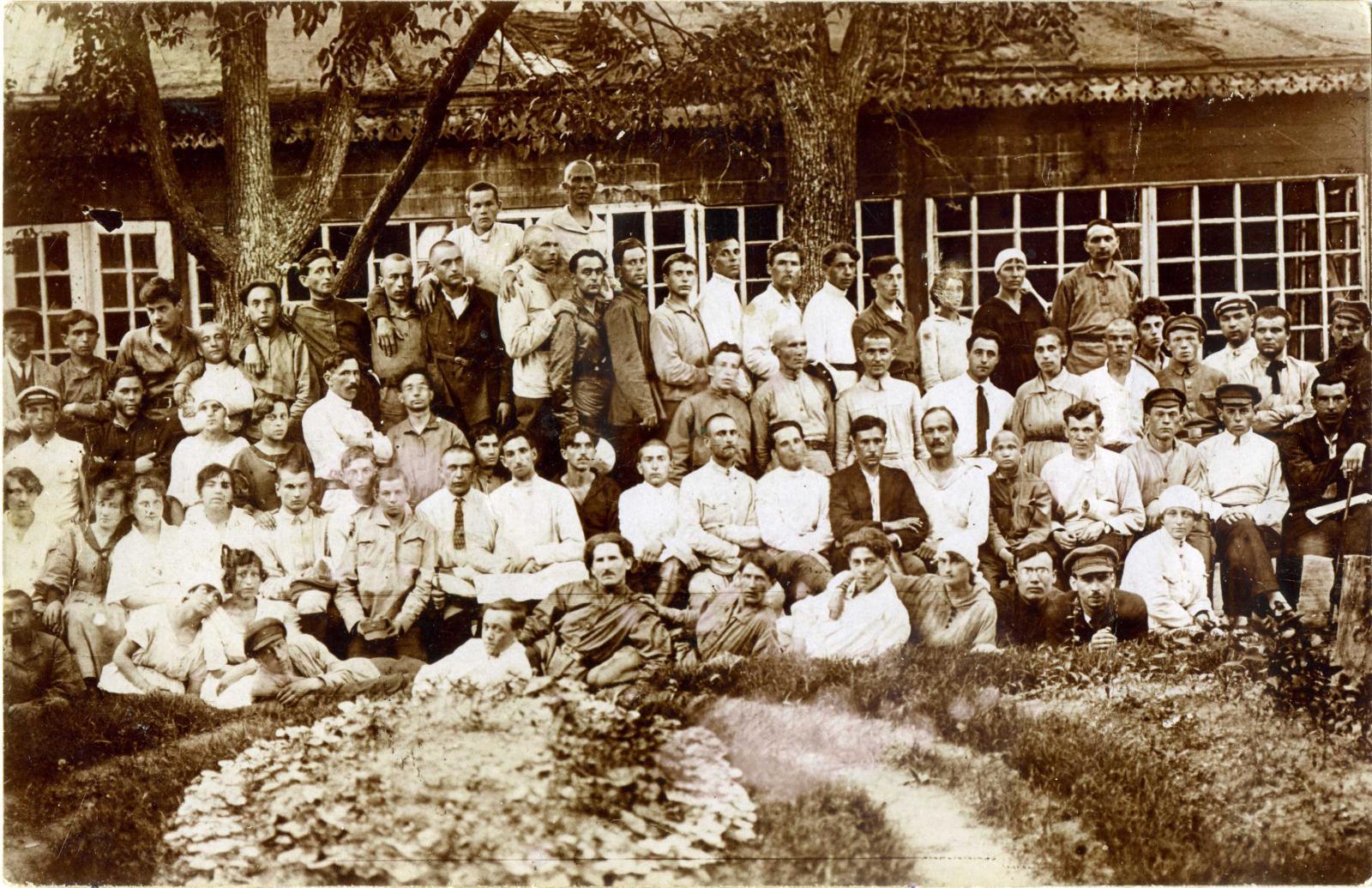 1922. Коллектив работников Гомельского Губотдела ГПУ, 05.06