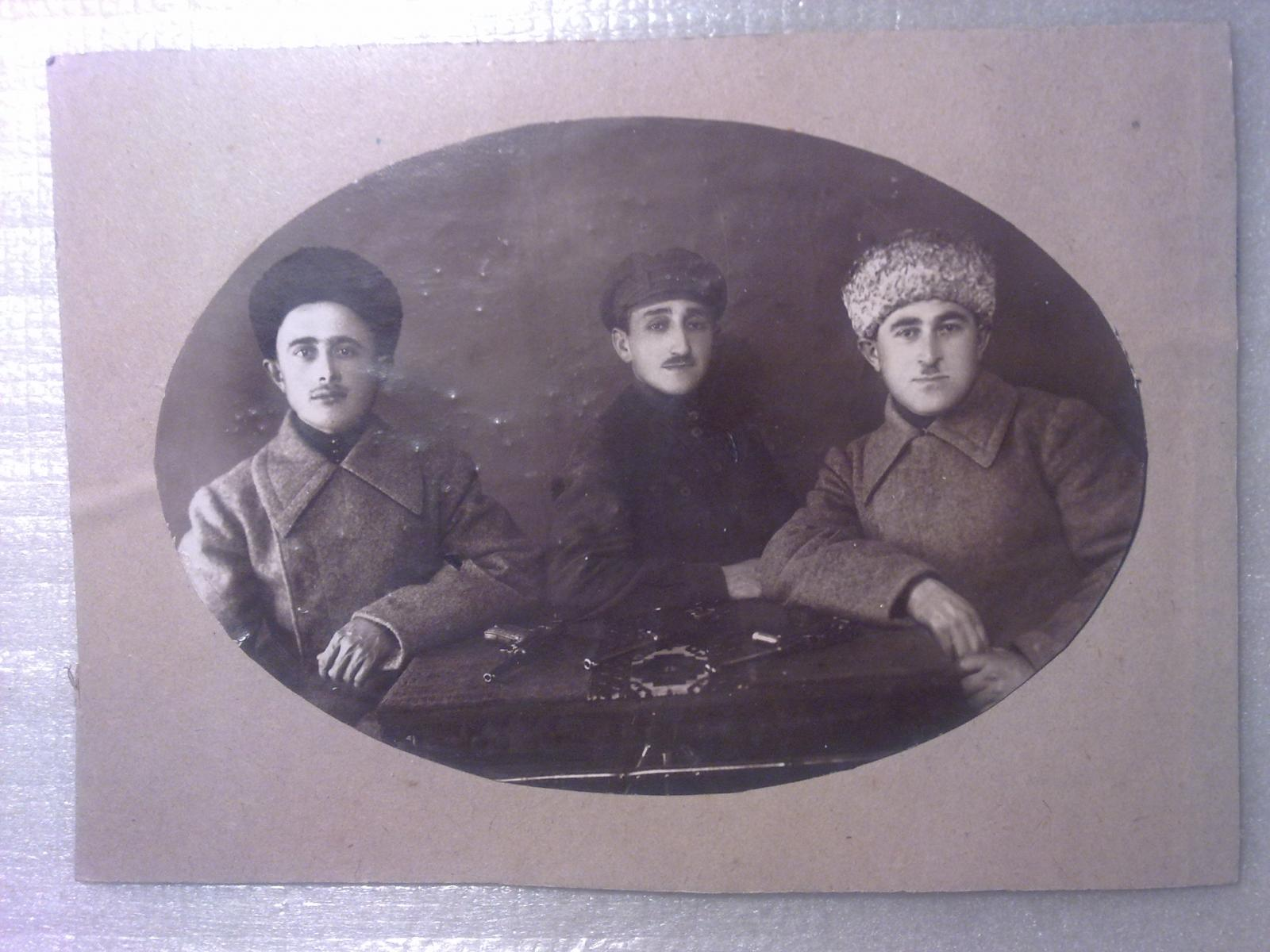 1922. Сотрудники Оперосоч ЧК Грузии, Тифлис