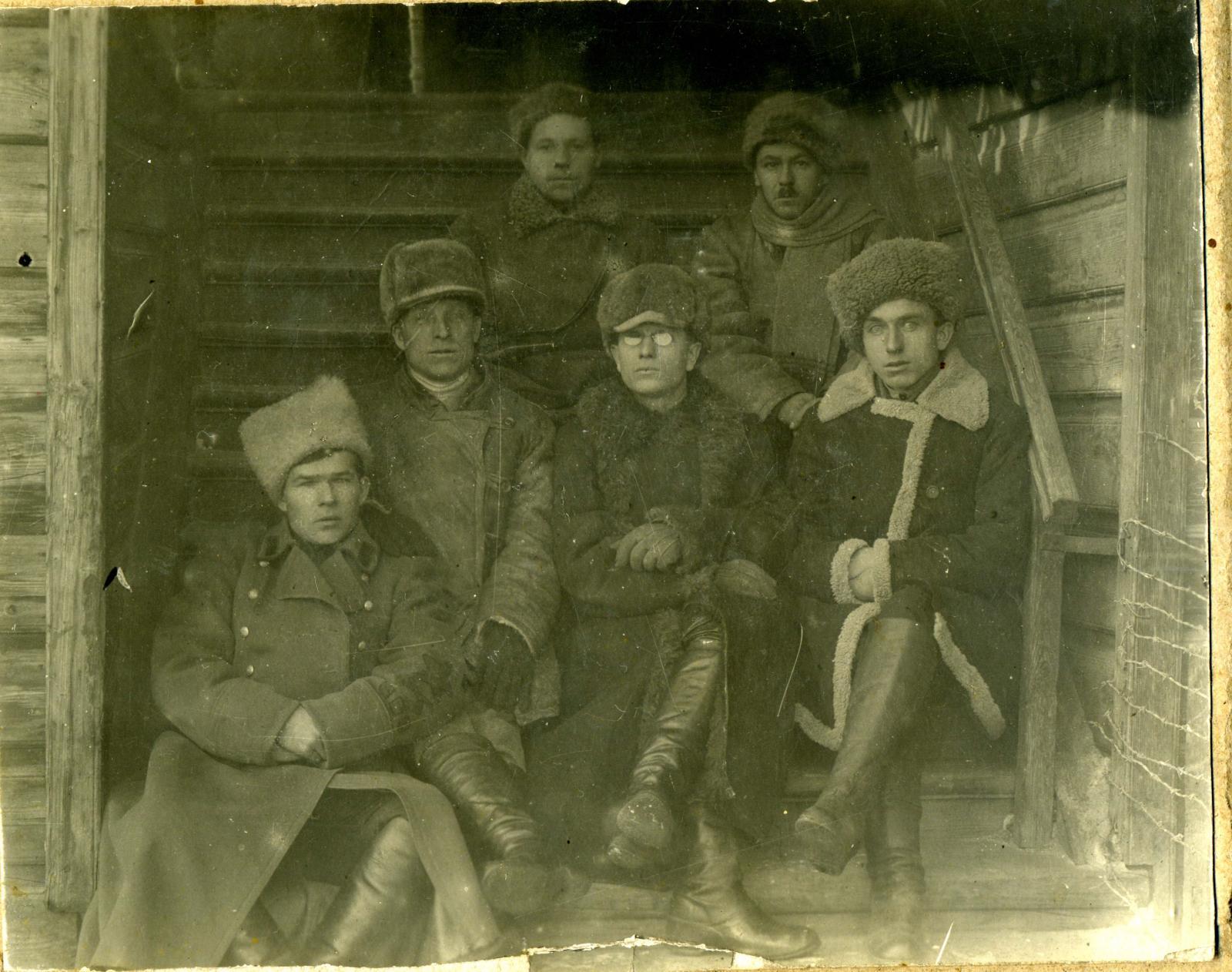 1922. Штаб ГПУ, Канск, 17 декабря