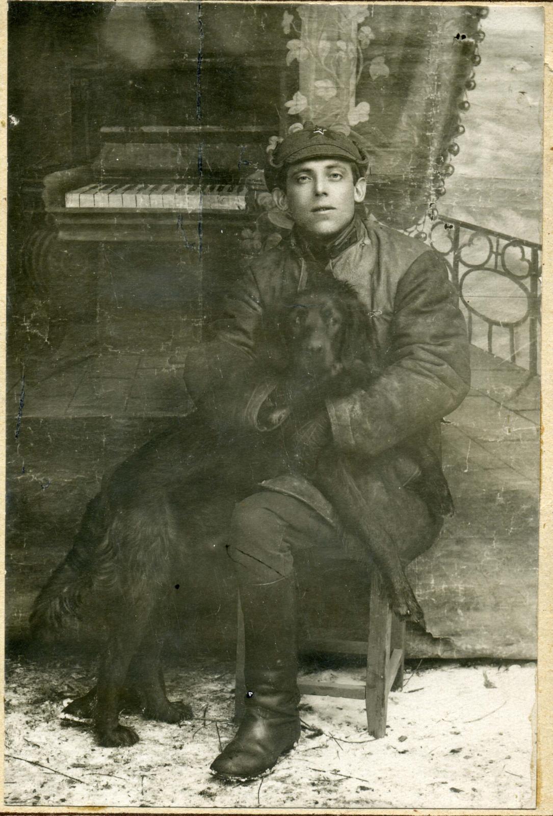 1930.  Работник органов ОГПУ-НКВД Николай Васильевич Серебряков