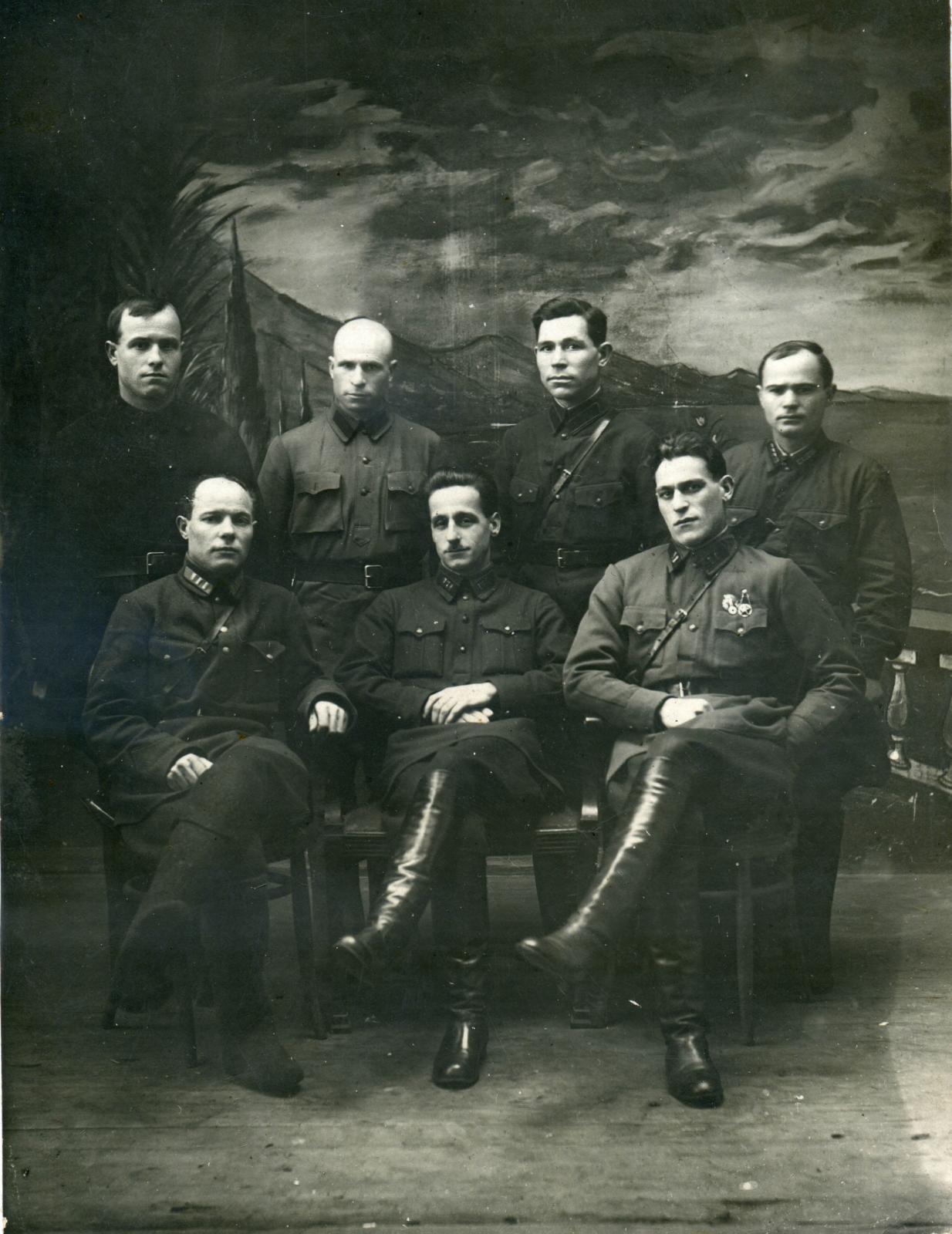 1930-е. Группа сотрудников Раненбургского райотдела ОГПУ