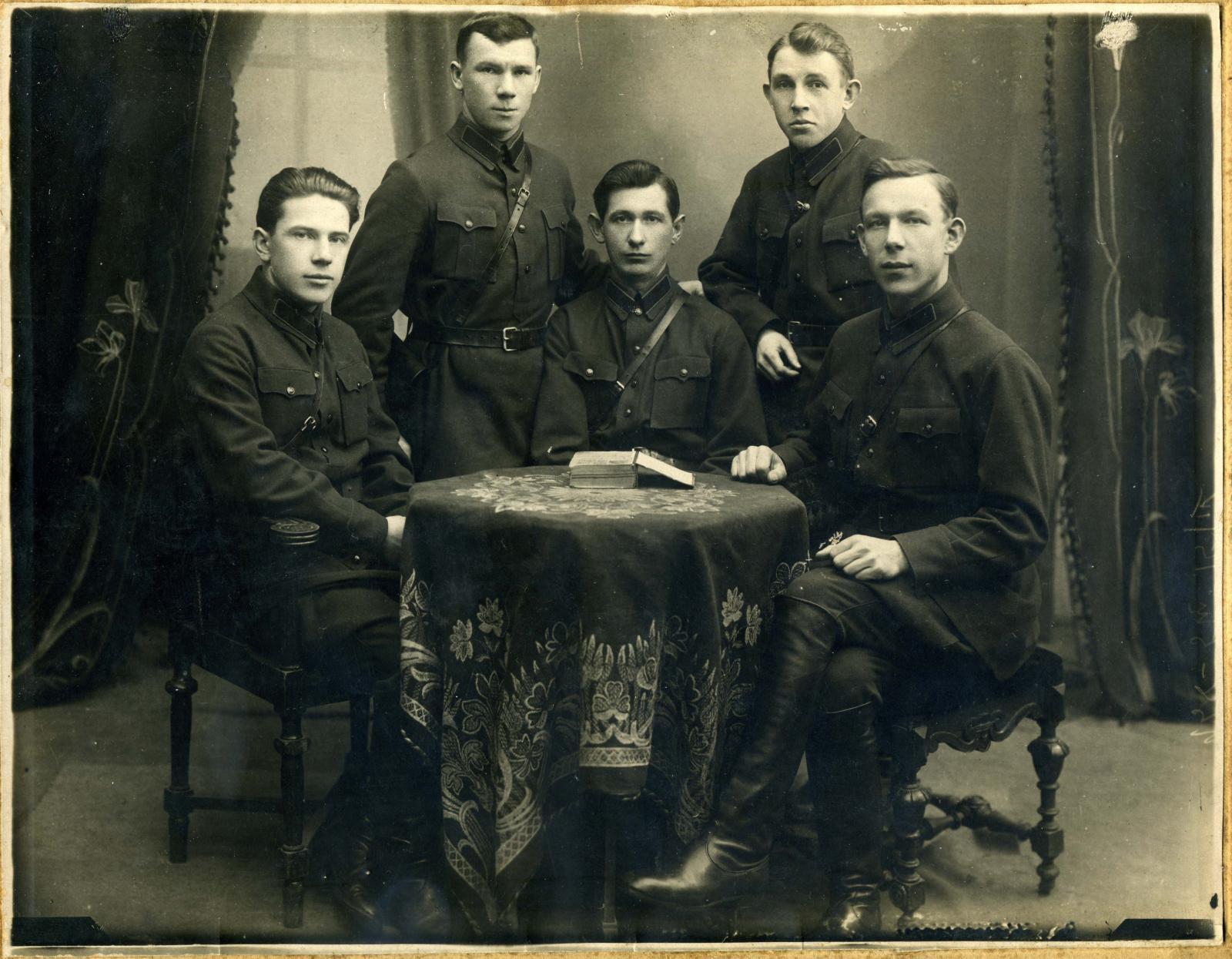 1930-е. Сотрудники ОГПУ