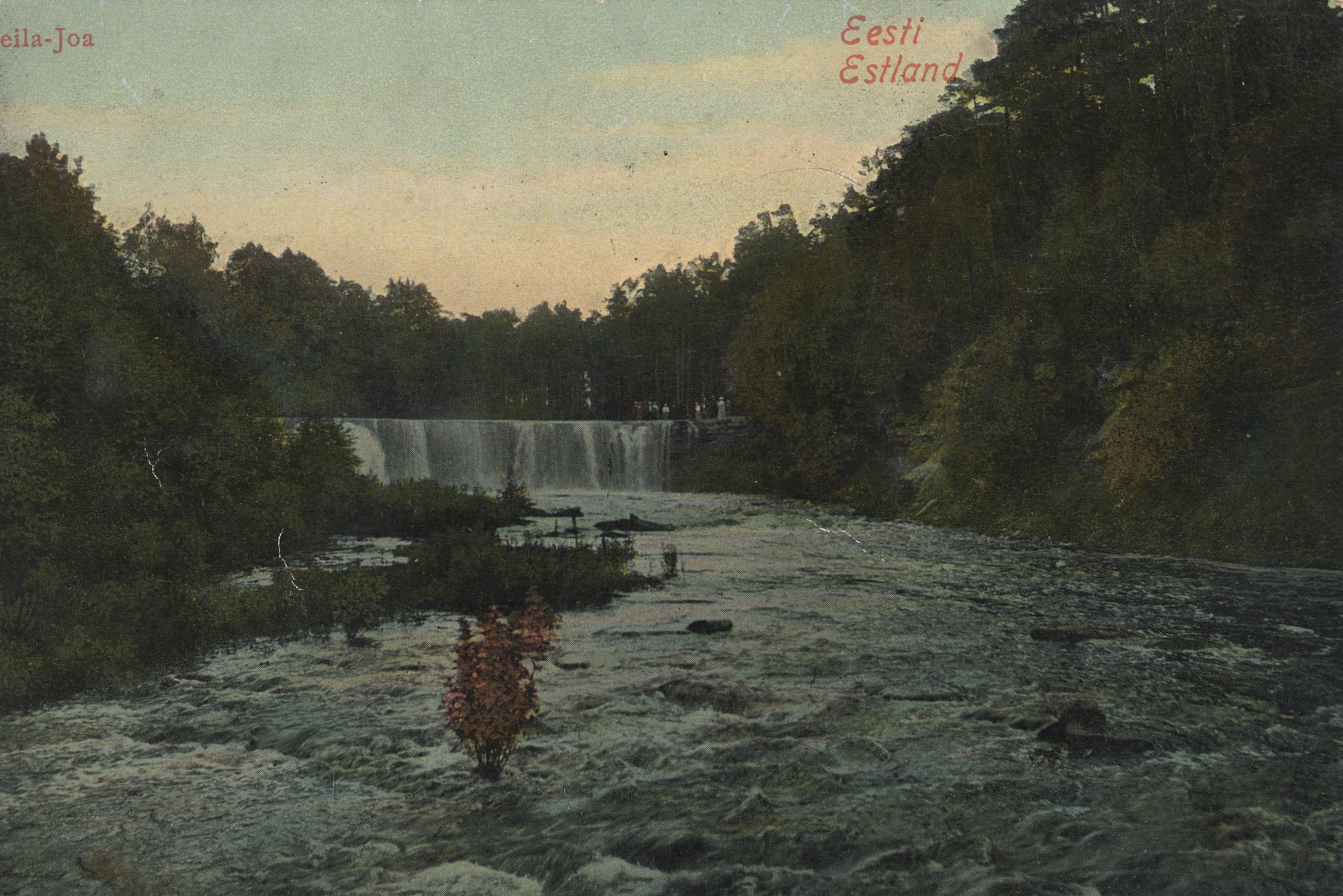 Окрестности Ревеля. Водопад Кейла (1)