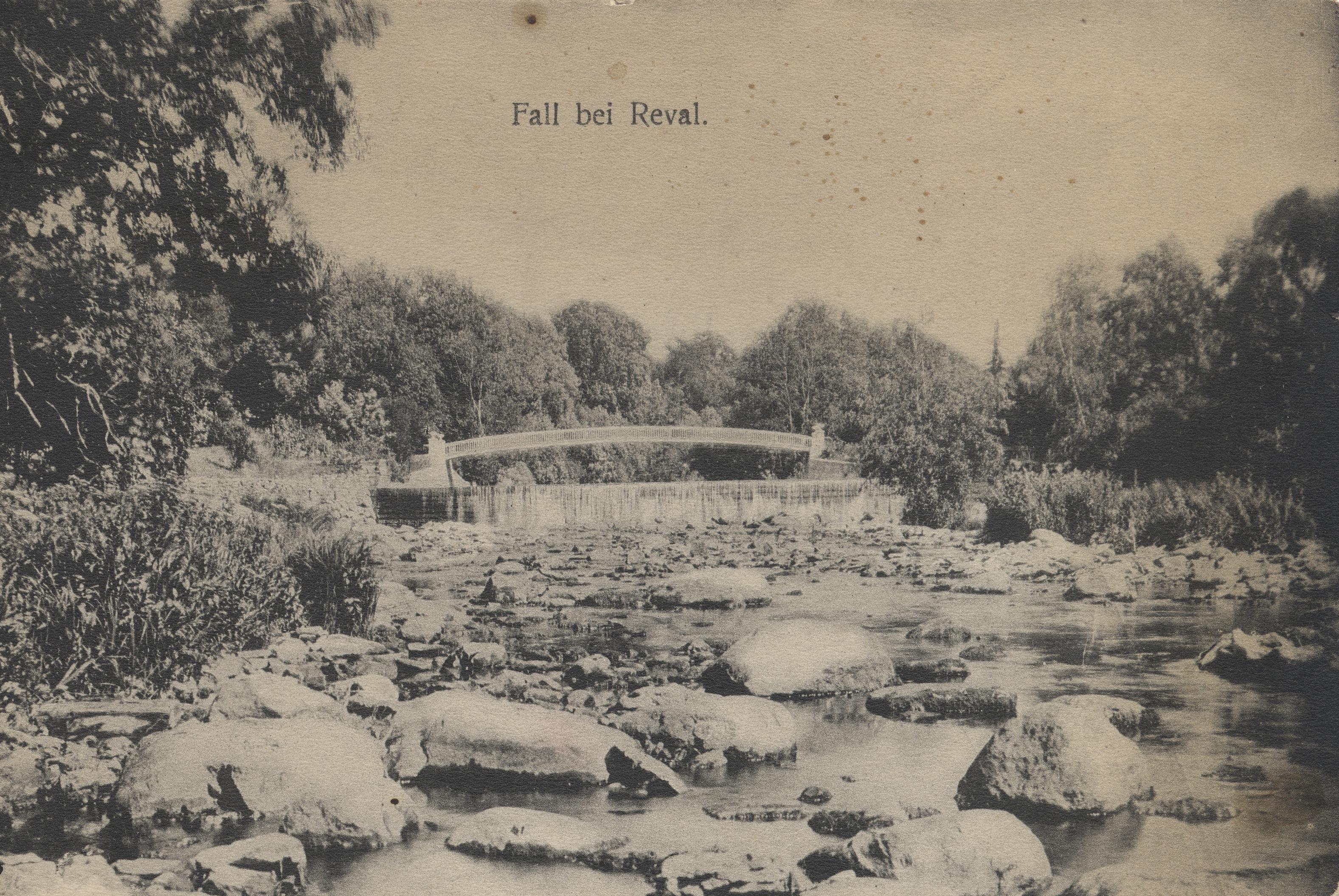 Окрестности Ревеля. Водопад Кейла (2)