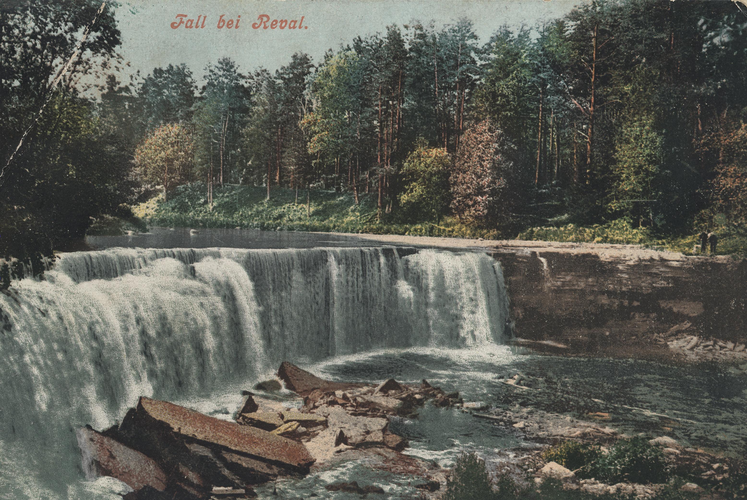 Окрестности Ревеля. Водопад Кейла (3)
