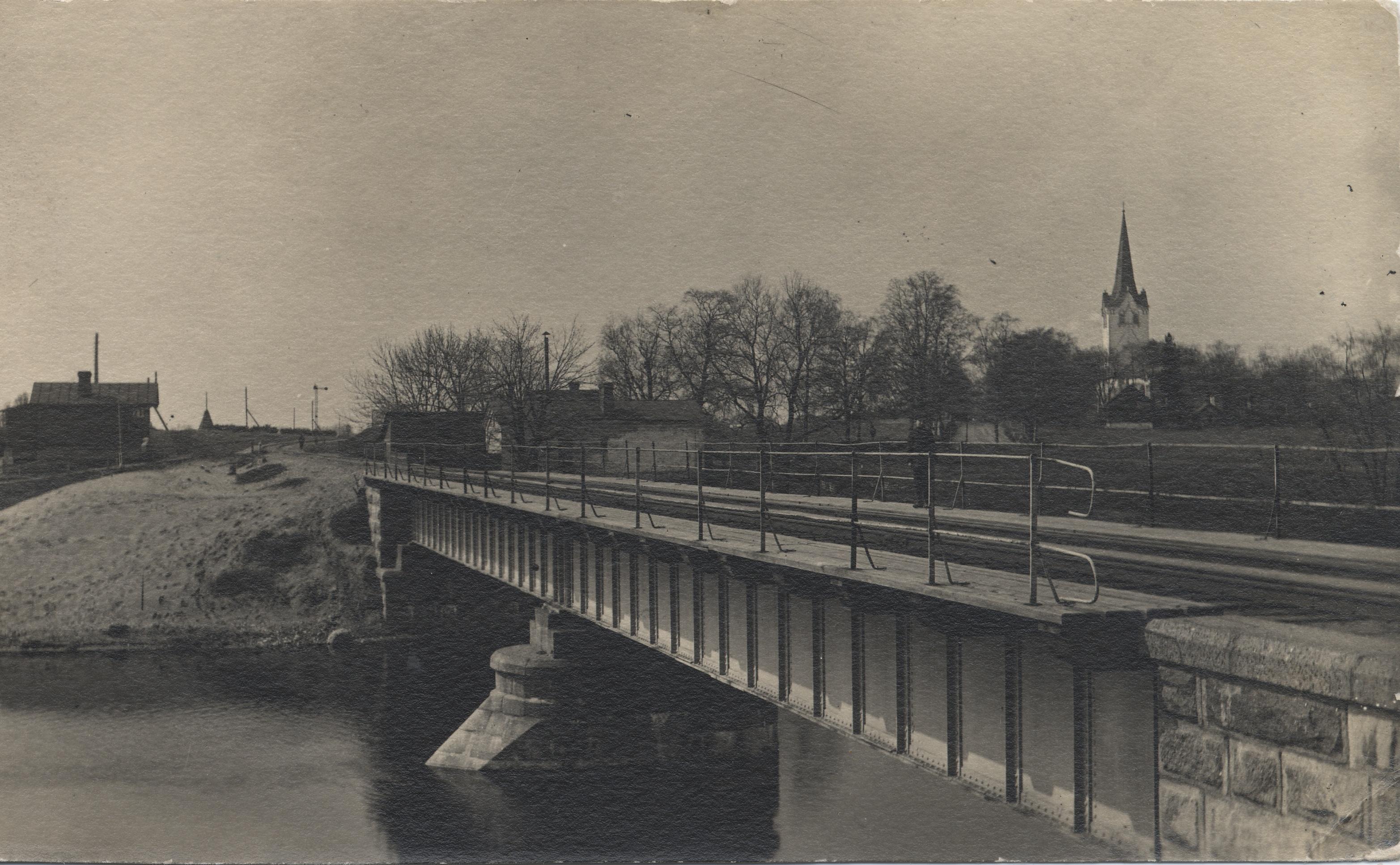 Окрестности Ревеля. Кегель. Мост