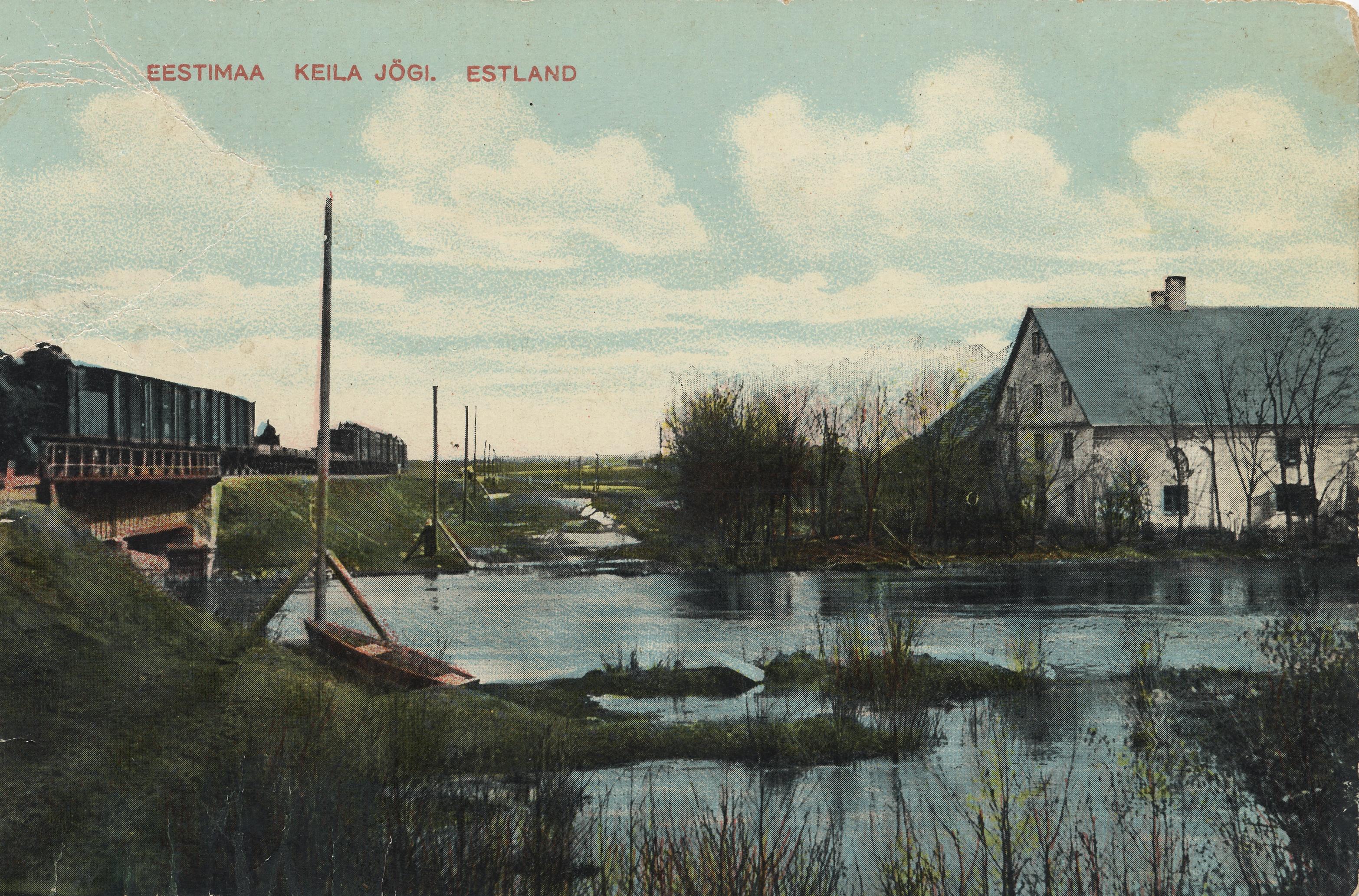 Окрестности Ревеля. Кегель. Река Кейла. Брод (2)