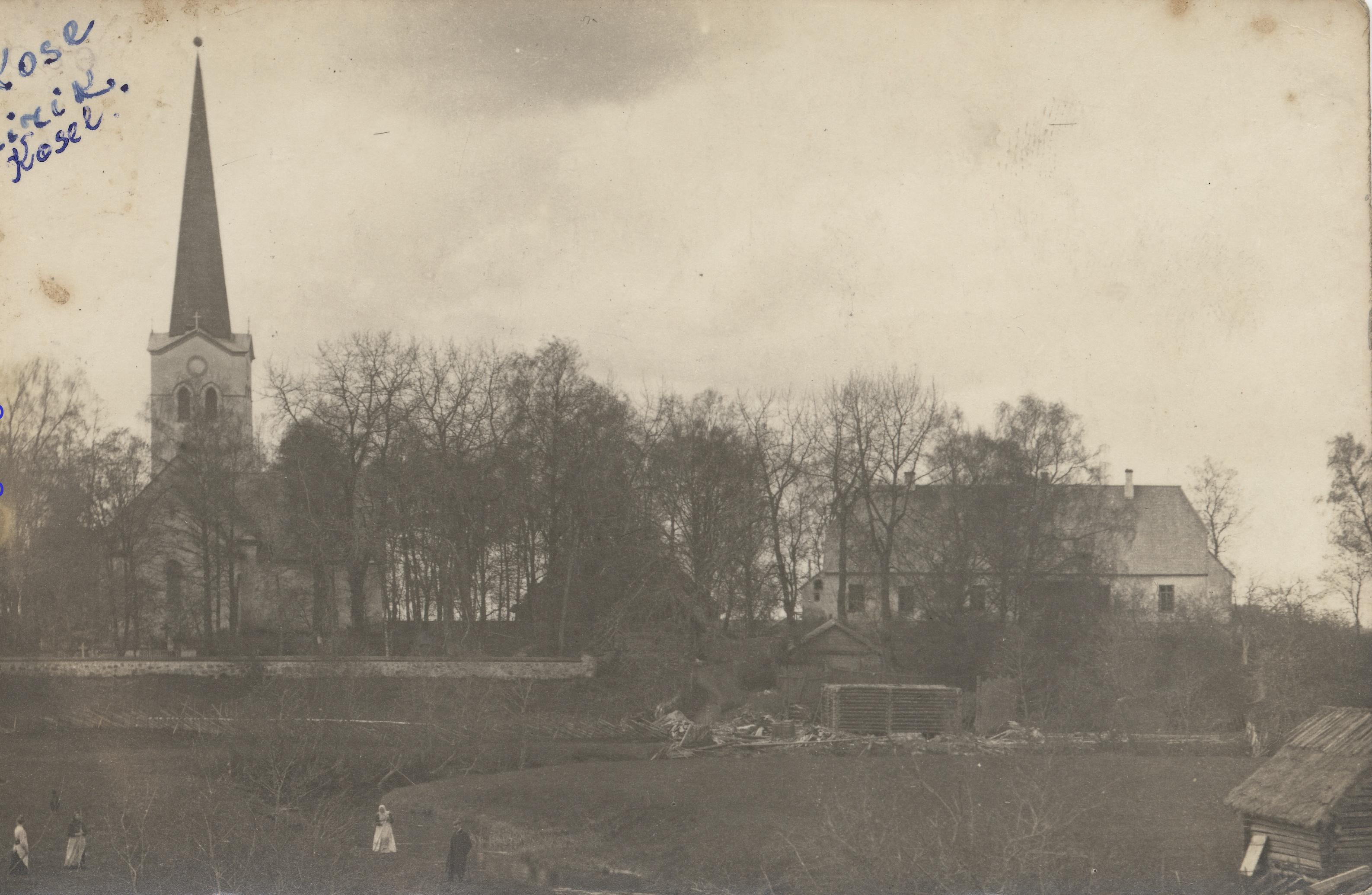 Окрестности Ревеля. Козе. Лютеранская церковь Святого Николая (2)