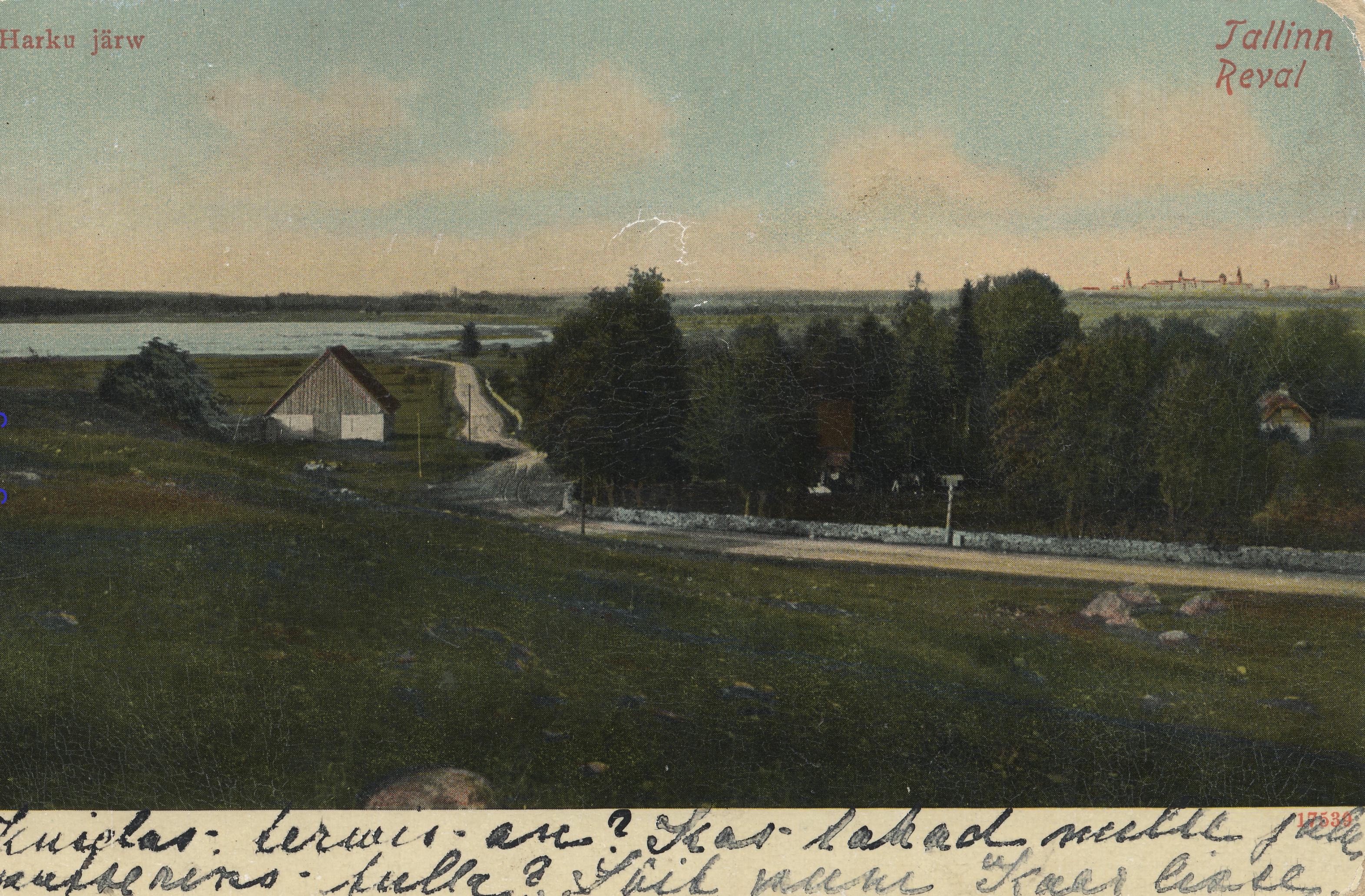 Окрестности Ревеля. Озеро Харку