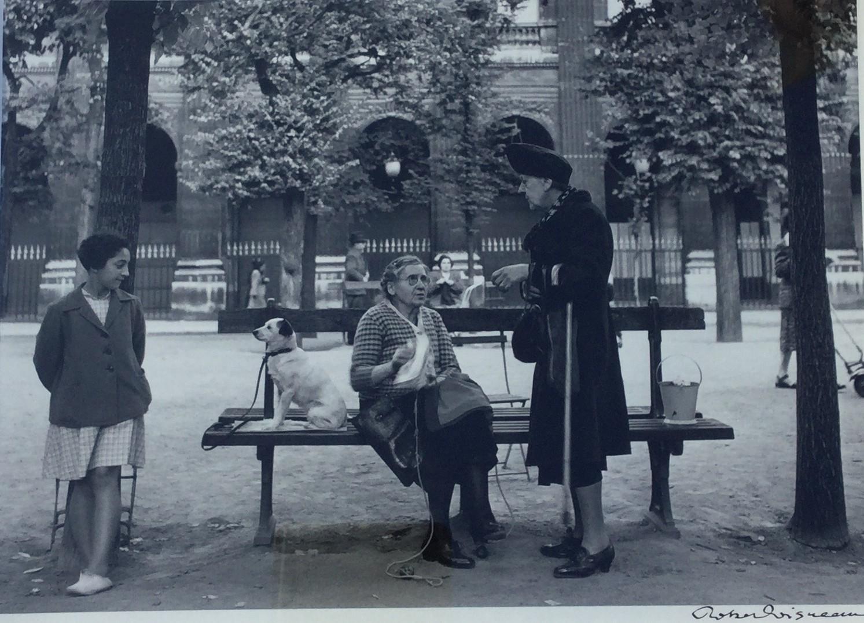 1950. Сад Пале-Рояль в июне