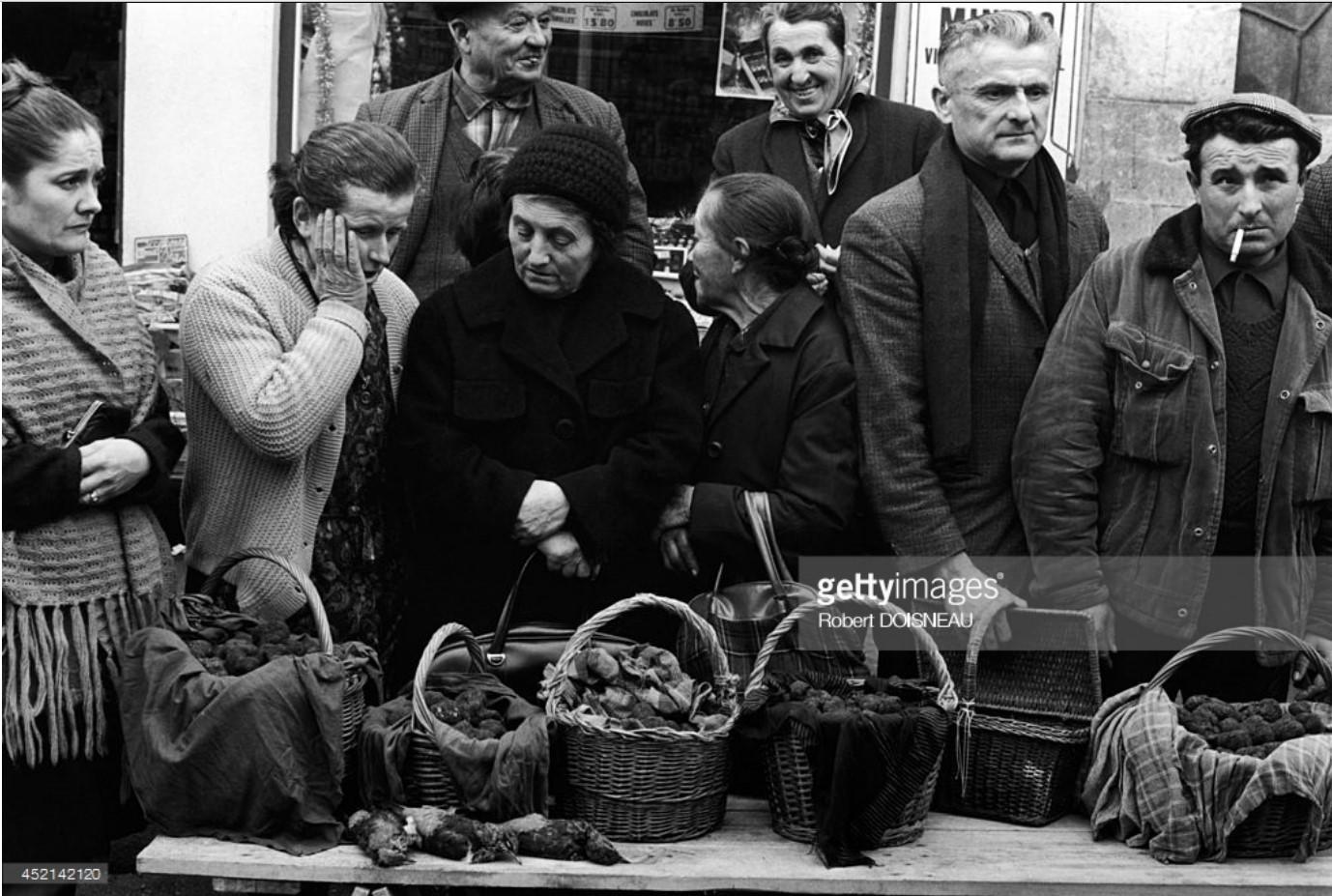 1971. Трюфельный рынок в Лалбенке