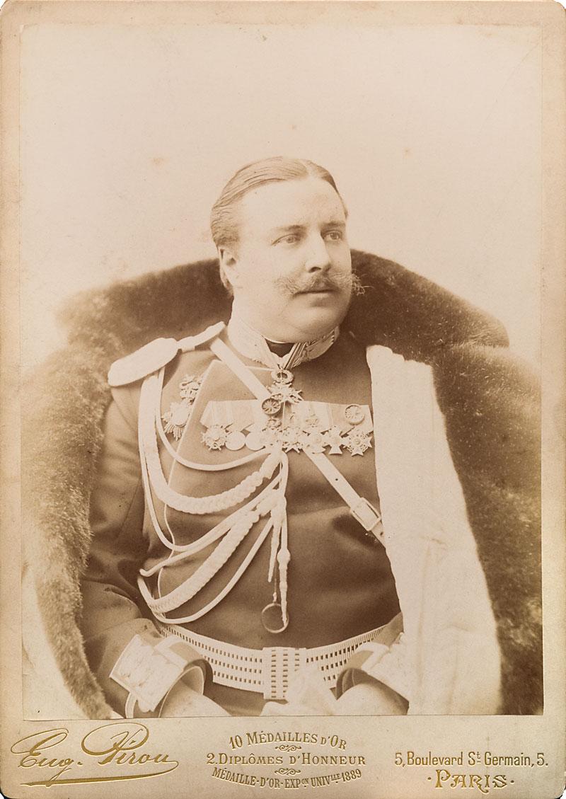 1892. Князь Алексей Николаевич Орлов в мундире флигель-адъютанта