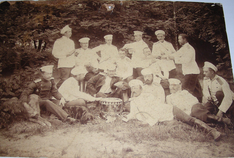 1900-е. Пикник офицеров