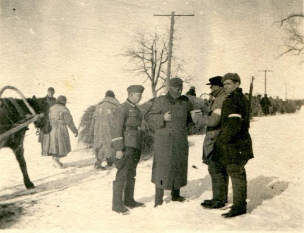 Русская вспомогательная полиция. 1942