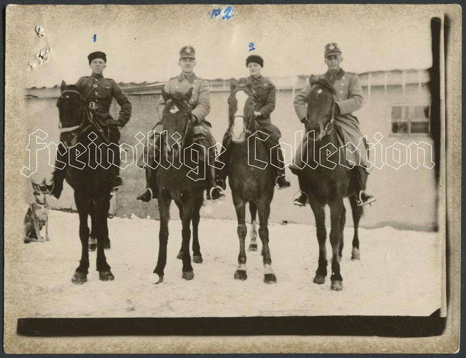 Село Соляное. Начальник полиции Синченко, жена начальника полиции Надя и двое жандармов