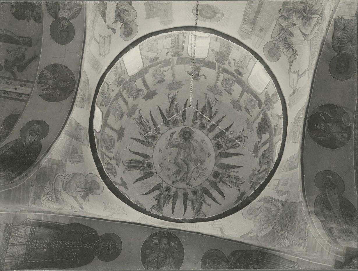 Общий вид росписи подкупольного пространства