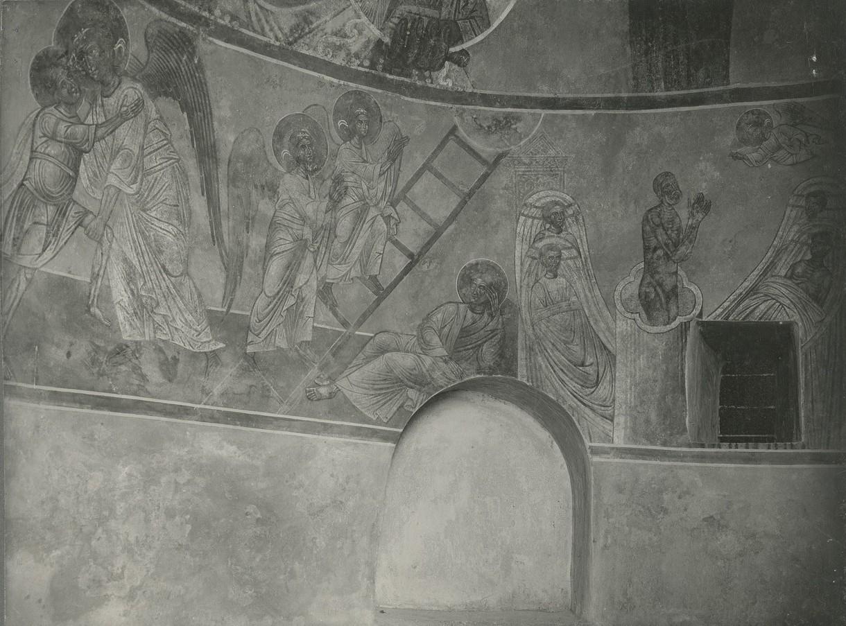Фрески дьяконника   Спасо-Преображенского собора Мирожского монастыря