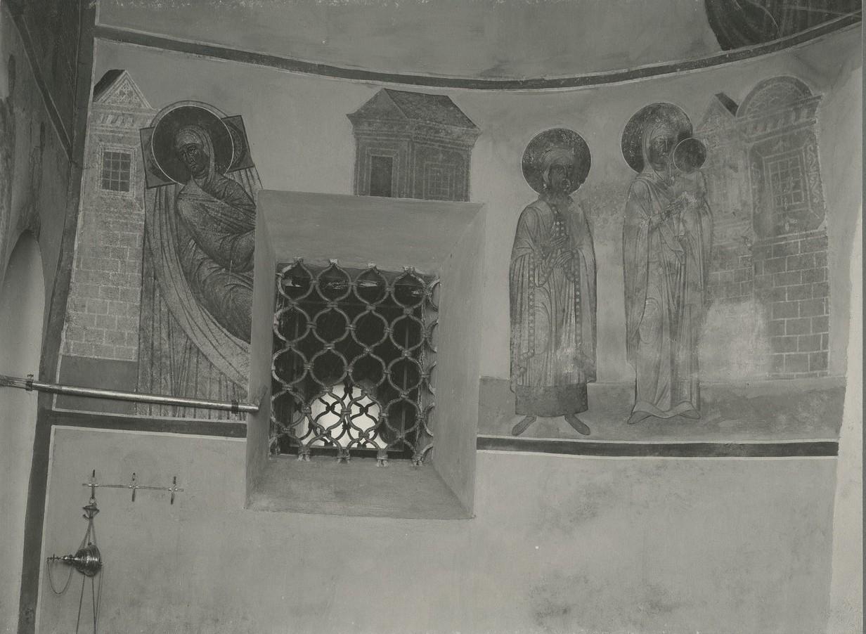 Фрески жертвенника Спасо-Преображенского собора Мирожского монастыря