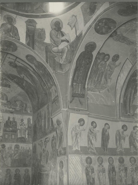 Фрески  Спасо-Преображенского собора Мирожского монастыря