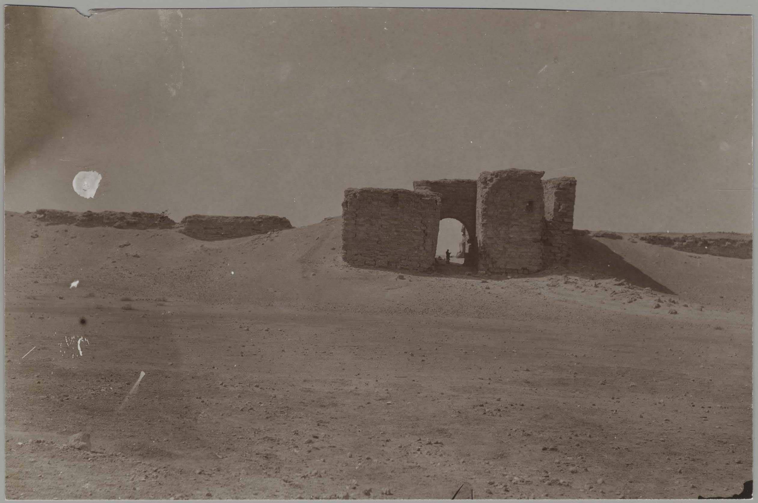 Дура-Европос. Вид врат и юго-западной стены