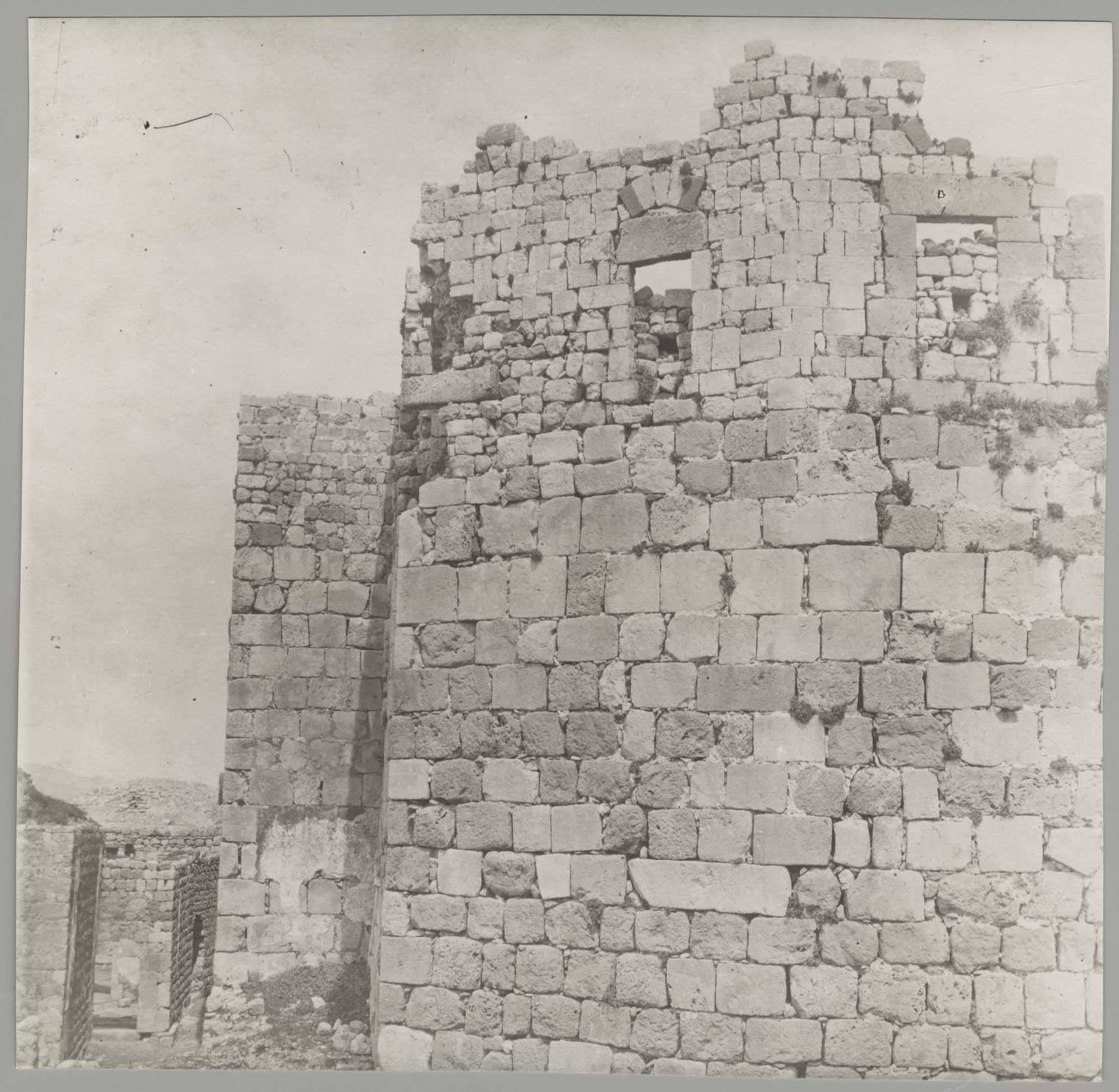 Масьяф. Крепостые стены
