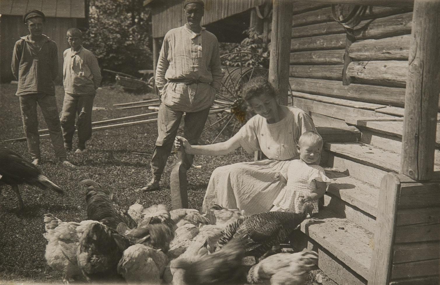 1920-е. В деревне
