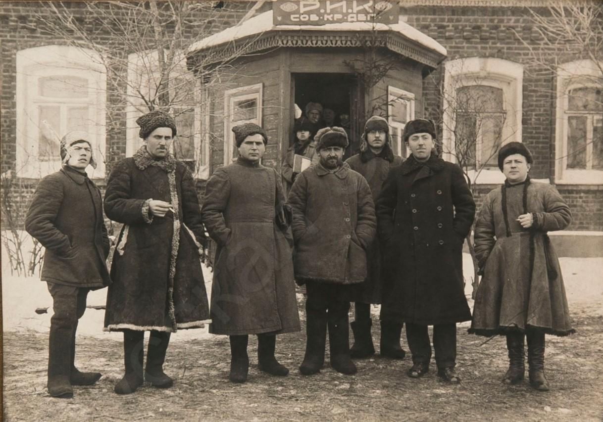 1924. Президиум Тёпло-Огарёвского РИКа