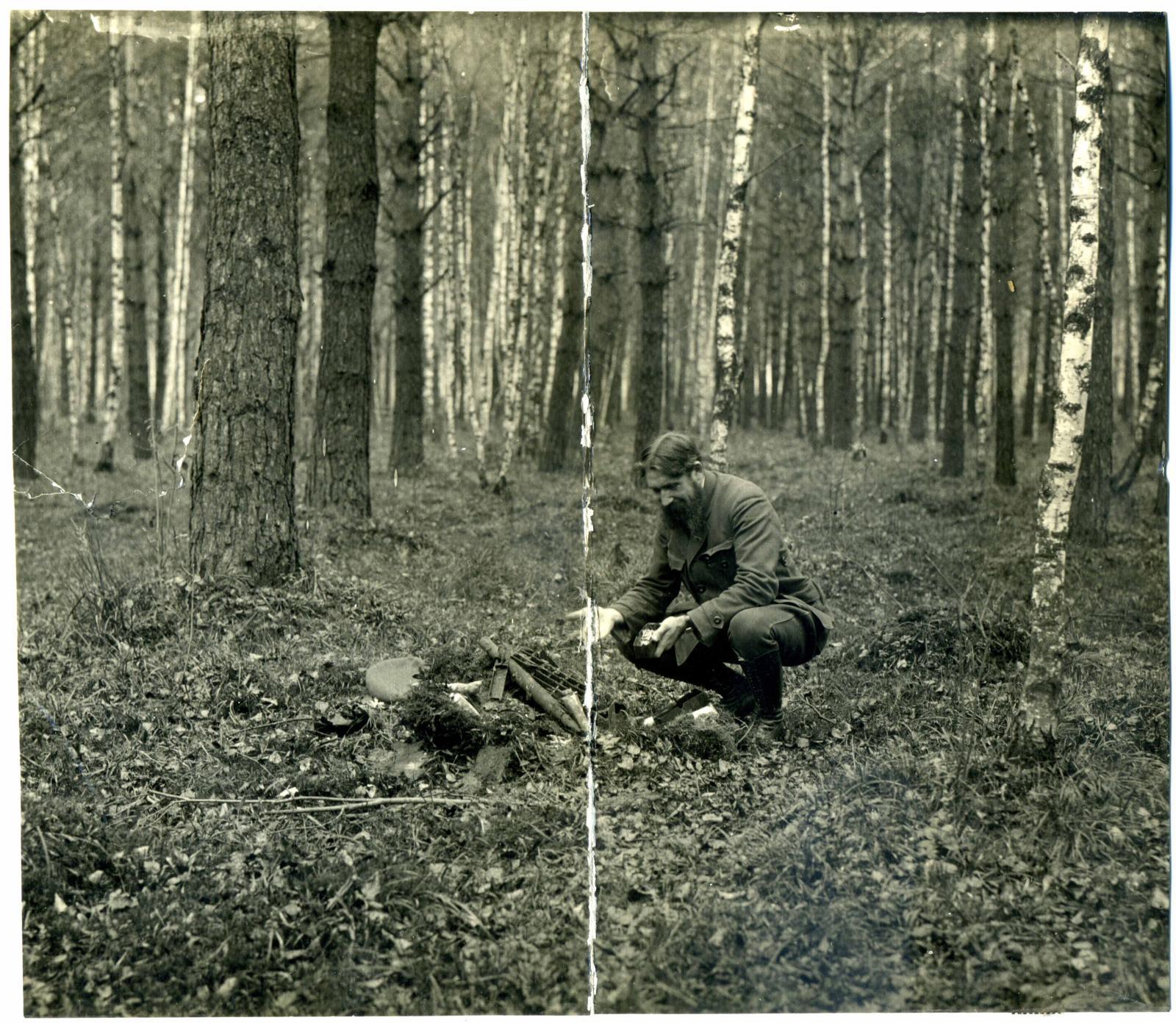 1928. Мартын Иванович Лацис и найденные типографические принадлежности