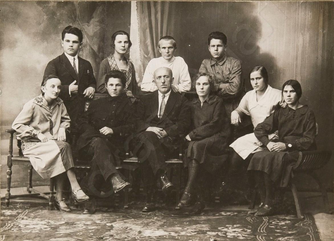 1929. Ячейка ВЛКСМ Тульского статистического отдела