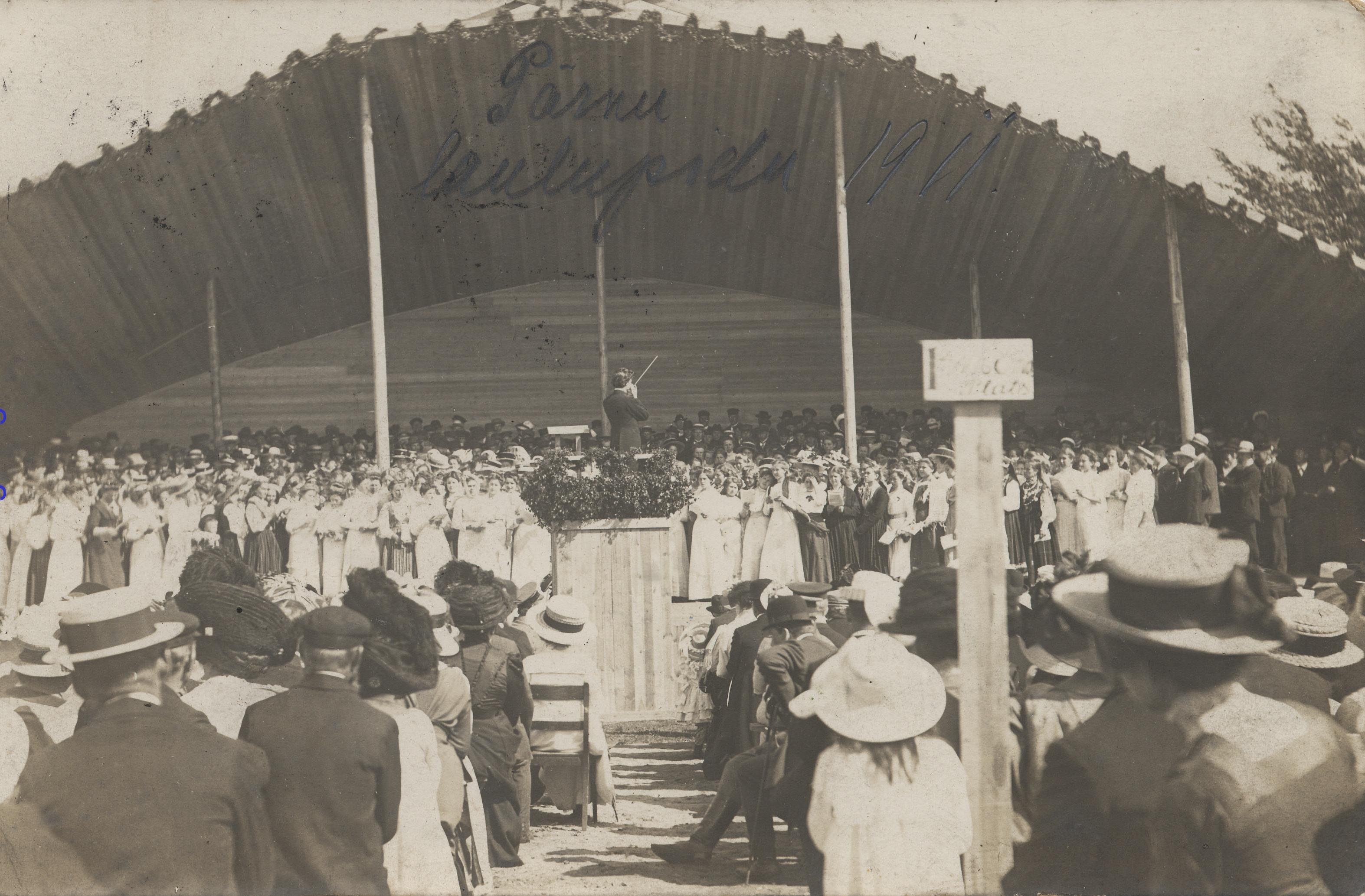 1911. Песенный фестиваль