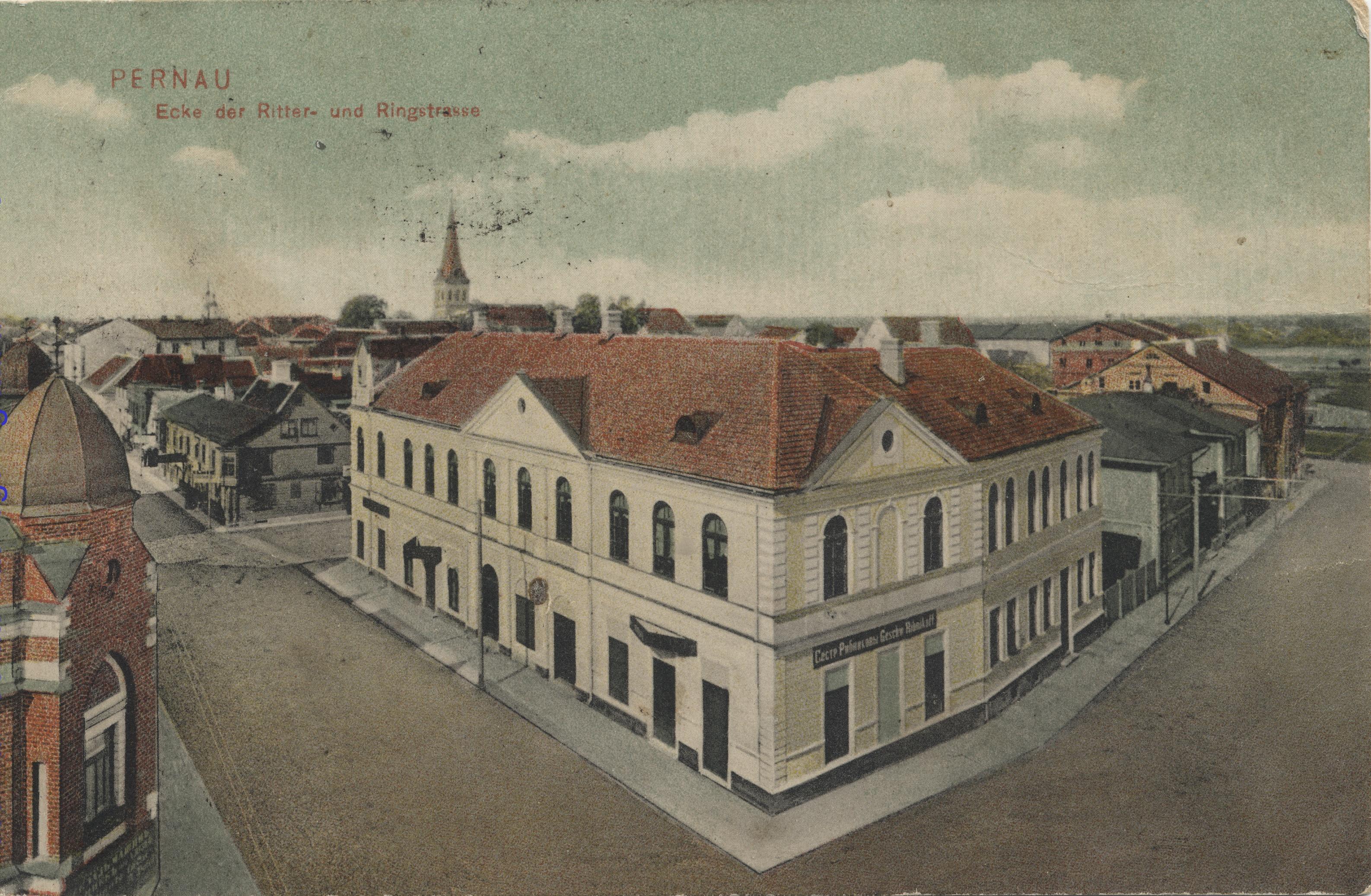 Угол Рыцарской и Кольцевой улиц