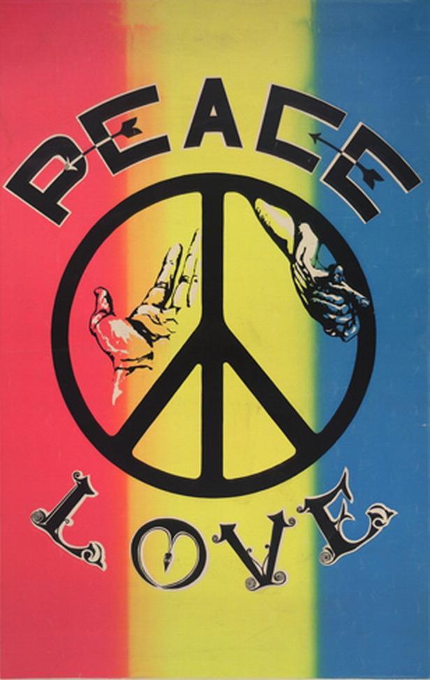 Love Peace, S.l., s.n., Ca. 1968